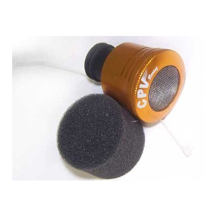 51713A - Golden Aluminum 1/8 High Flow Air Filter