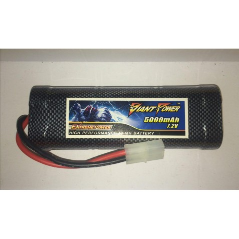 باطری نیکل متال - GiantPower 6Cell 7.2 Volt 5000 mah