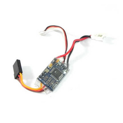 V.2.977.004 10A Brushless Speed Controller ESC Black & Red & White