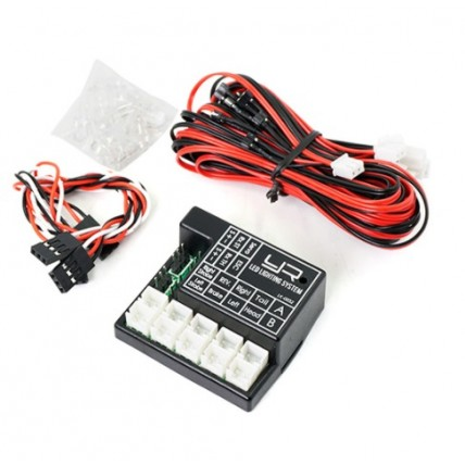 yeahracing - LK-0032 2 Channel Programmable LED Lighting System For 1/10 R