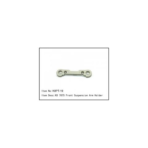K8PT-19 - K8 7075 Front Suspension Arm Holder