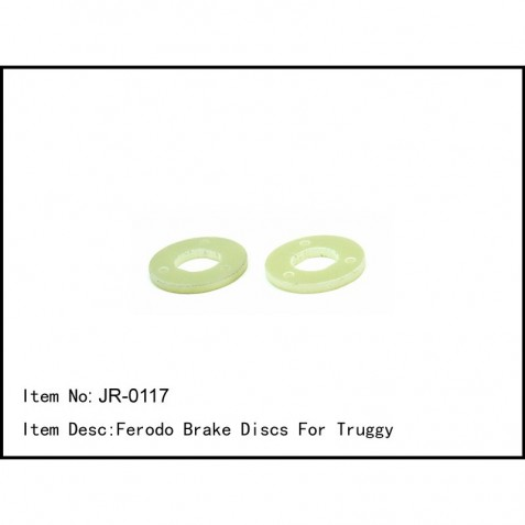 JR-0117 - Ferodo Brake Discs For Truggy
