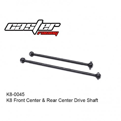 K8-0045 K8 - Front Center & Rear Center Drive Shaft