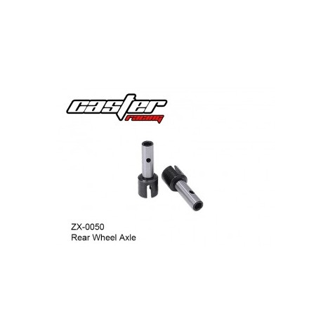 CASTER - ZX-0050 - Rear Wheel Axle
