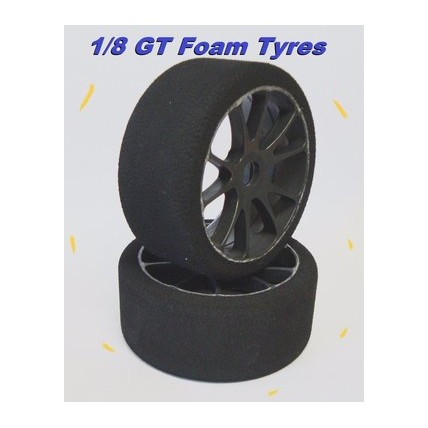 SP-GT-42 - 1/8 Rally Game tires GT FOAM 42shore NEW - SP Racing