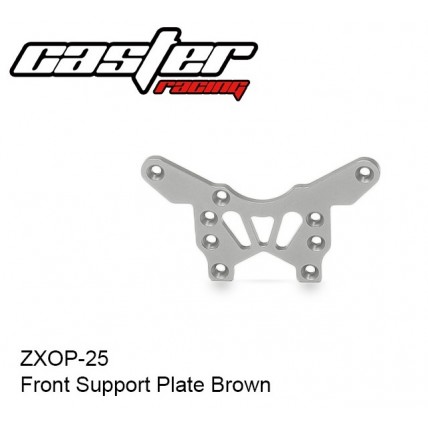 ZXOP-25 Front Support Plate Brown