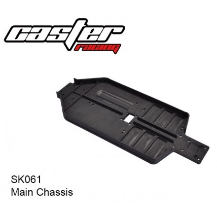 SK061 Main Chassis - شاسی اصلی باگی 1/10