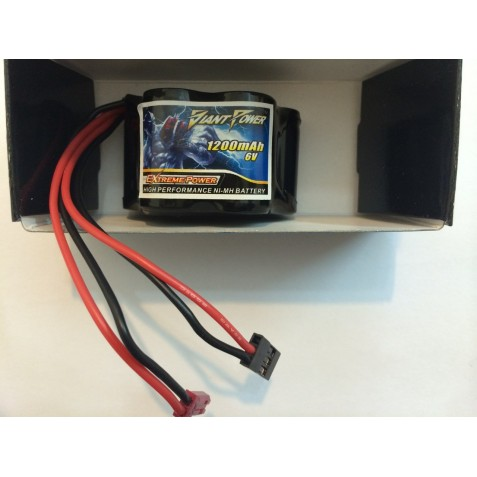 Receiver battery 6.0 V 1200mAh