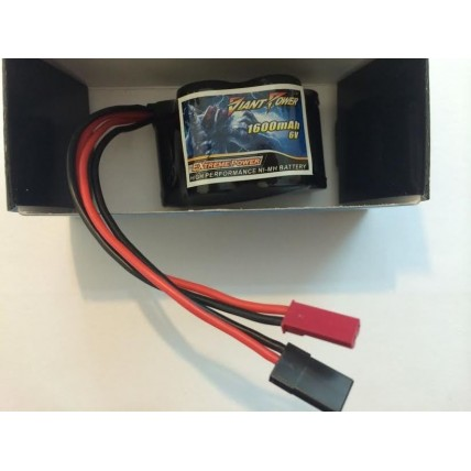 Receiver battery 6.0 V 1600mAh