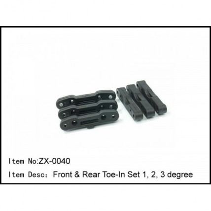 ZX-0040 Front & Rear Toe-In Set