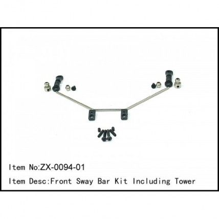 ZX-0094-01 - Front Sway Bar Kit Including Tower استرس بار باگی