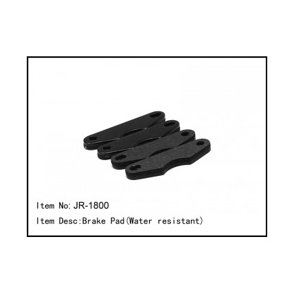 JR-1800 Brake Pad Water resistant دیسک ترمز ضدآب