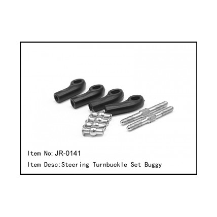 JR-0141 Steering Turnbuckle Set Buggy JR-0141 Steering Turnbuckle Set Buggy آپشن