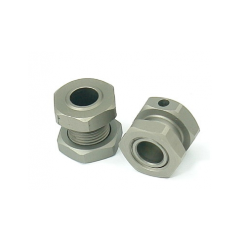 Caster Racing ZX-0077 Wheel Hub and nut (2pcs)